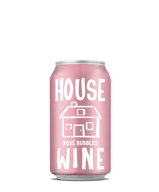 HOUSE WINE CAN ROSE BUBBLES 375ML