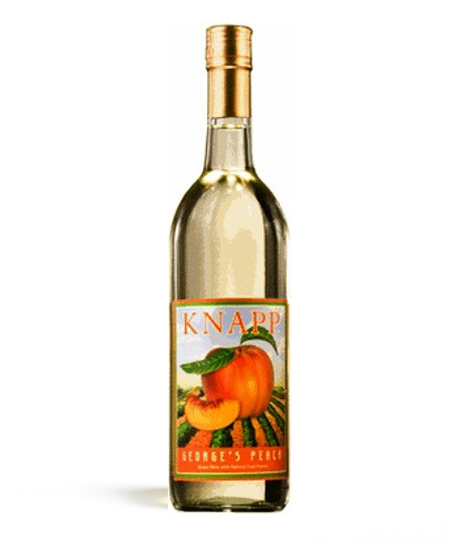 Knapp Vineayrds, George's Peach, Cayuga Lake, 750ml