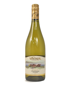 Wagner Vineyards, Unoaked Chardonnay, Seneca Lake, 750ml
