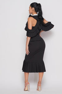 Ruffle Me dress