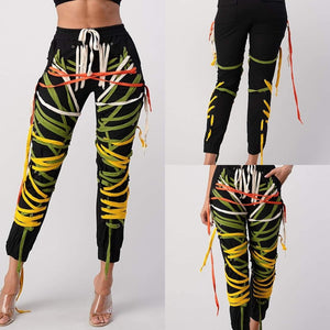 Shoestring Colorblock Joggers