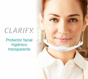 Protector Facial Transparente - Clarify (6u)