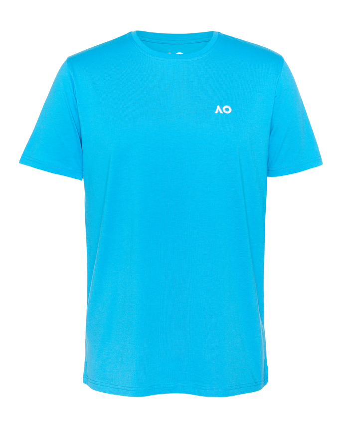 T-Shirt Embroidery Logo - Pacific Blue