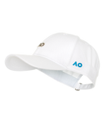 Cap Pin Logo White