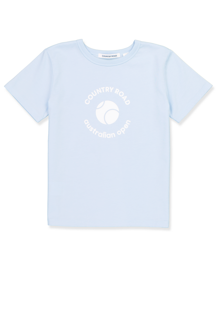 T-Shirt Kids AO Country Road Dusty Blue