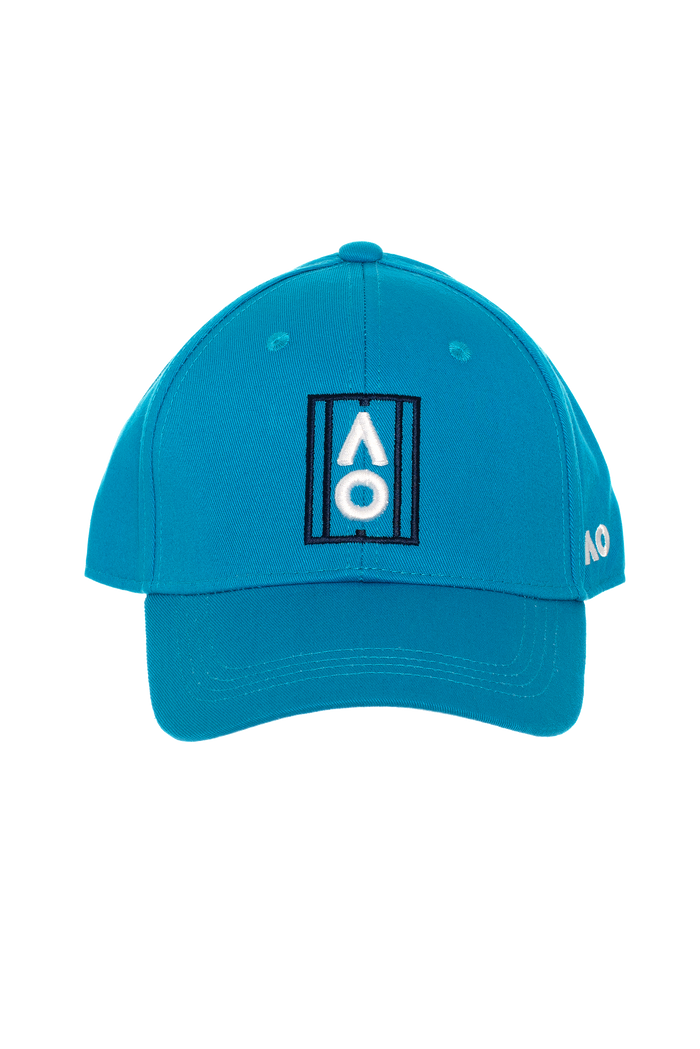 Cap Court Logo Process Blue