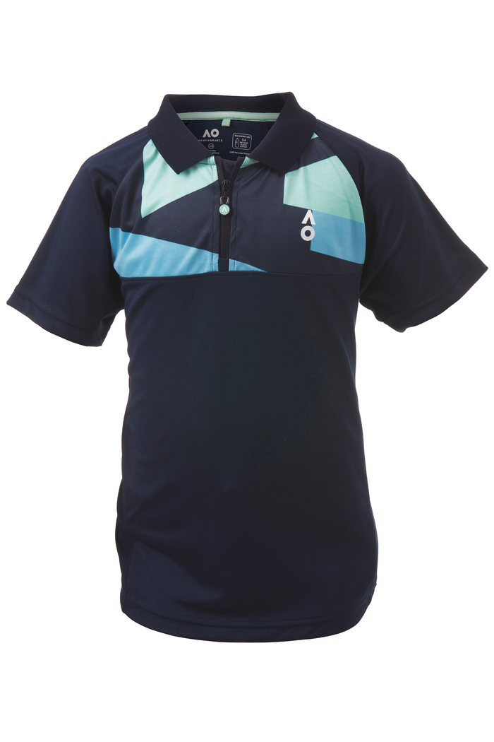Boy's Polo Performance Navy