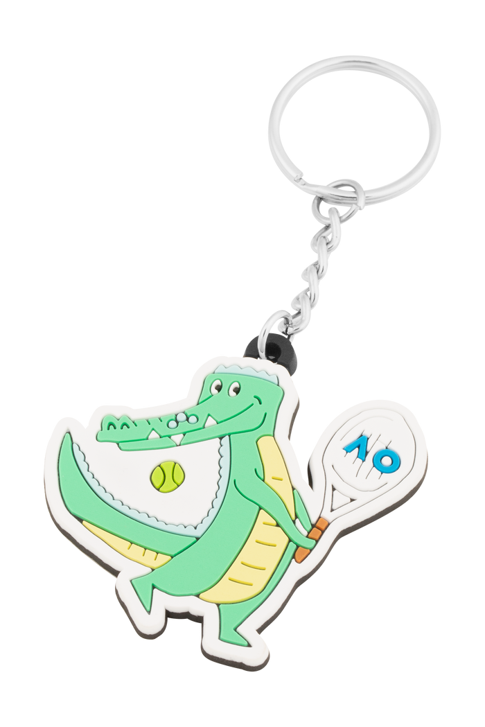 Keyring Rubber Crocodile