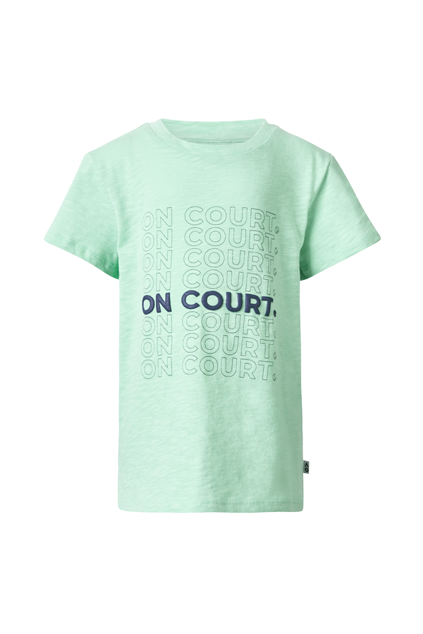 Boy's T-Shirt On Court Repetition
