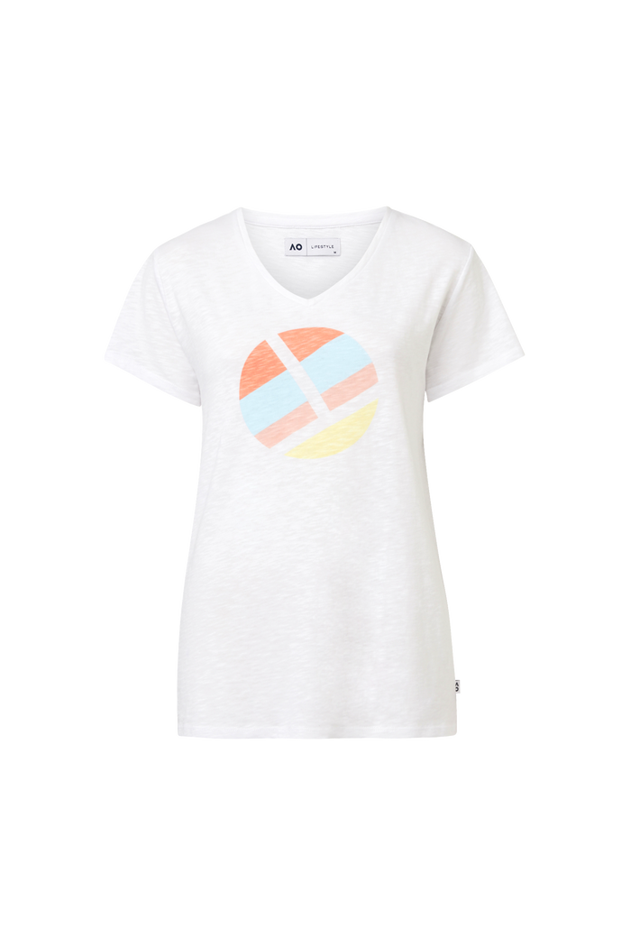 Women's T-Shirt Ball Rainbow