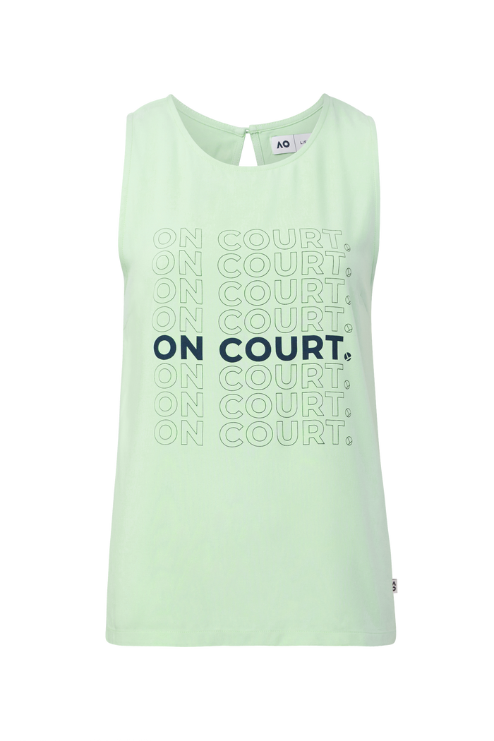 Singlet On Court Colourful