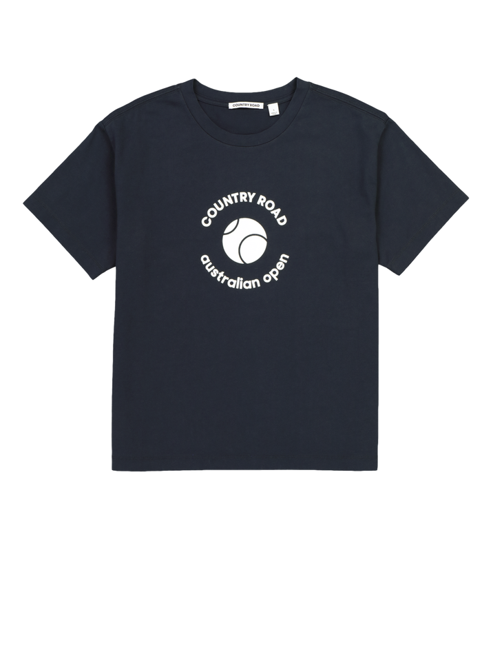 T-Shirt Baby AO Country Road Navy
