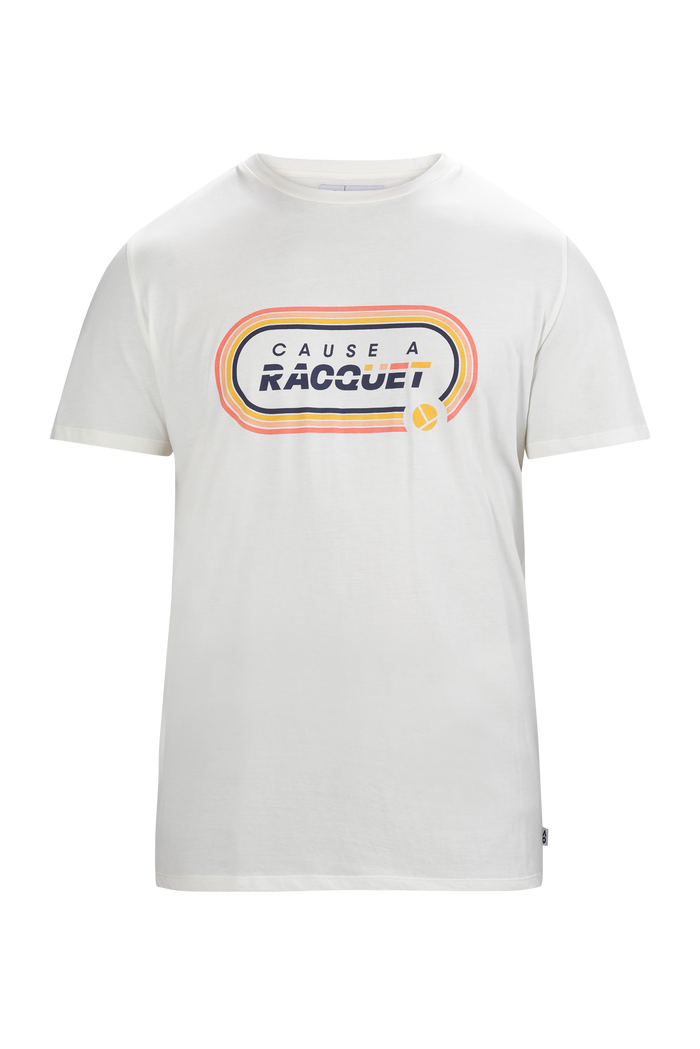 T-Shirt Cause A Racquet Cream