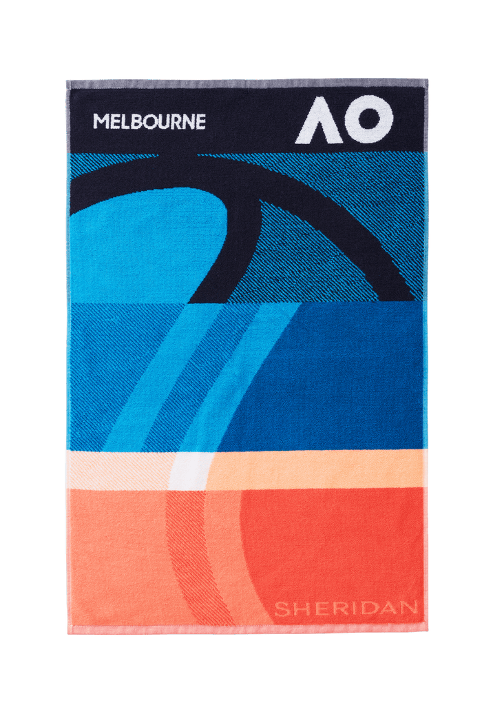 AO 2021 Gym Towel - Navy