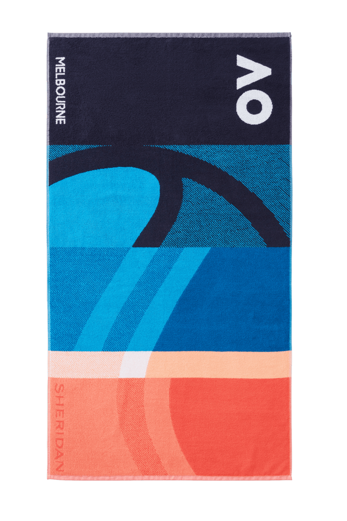 AO 2021 Player Towel - Navy