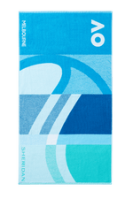 AO 2021 Player Towel - Pacific Blue