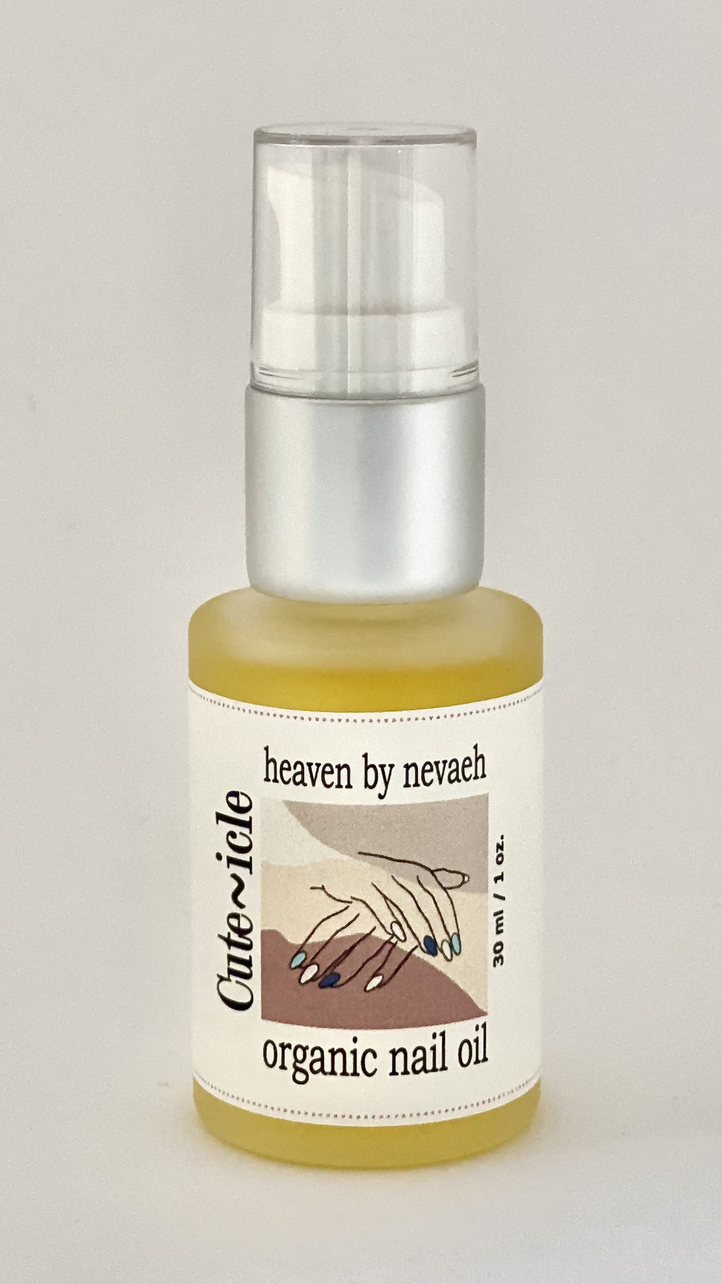Heaven by Nevaeh: Organic Nail Oil
