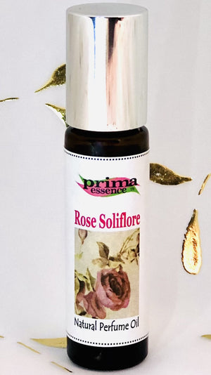 Rose Soliflore with Rose Absolute, Rose Otto, Clove and Patchouli Natural Perfume by Prima Essence Canada