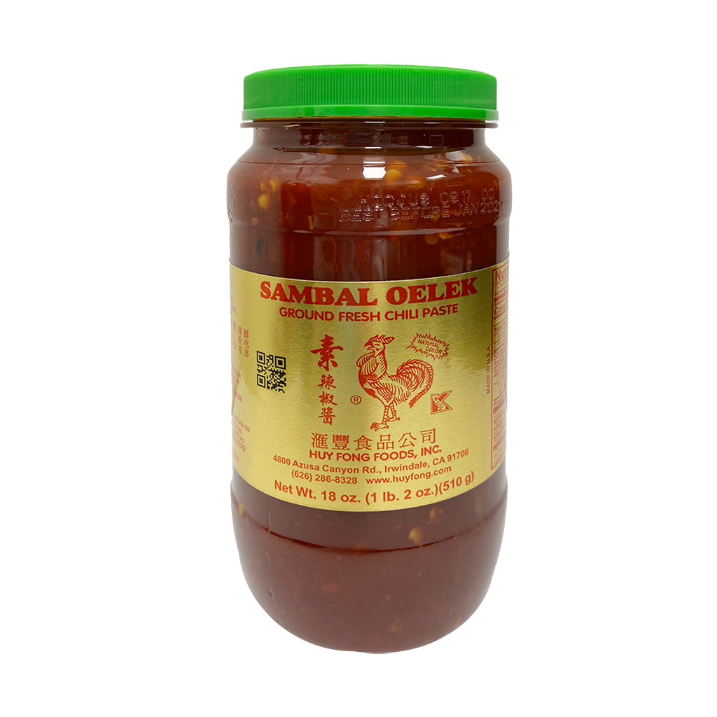 GROUND FRESH CHILI PASTE匯豐素辣椒510g