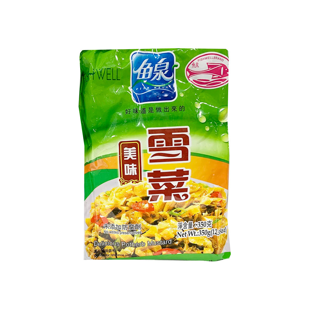 Fish Well Potherb Mustard 魚泉美味雪菜 350G