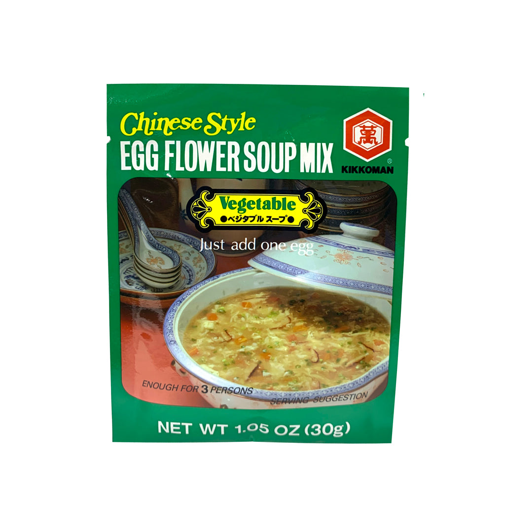 KKM EGG FLOWER SOUP MIX-VEGETABLE 萬字蛋花湯料-蔬菜