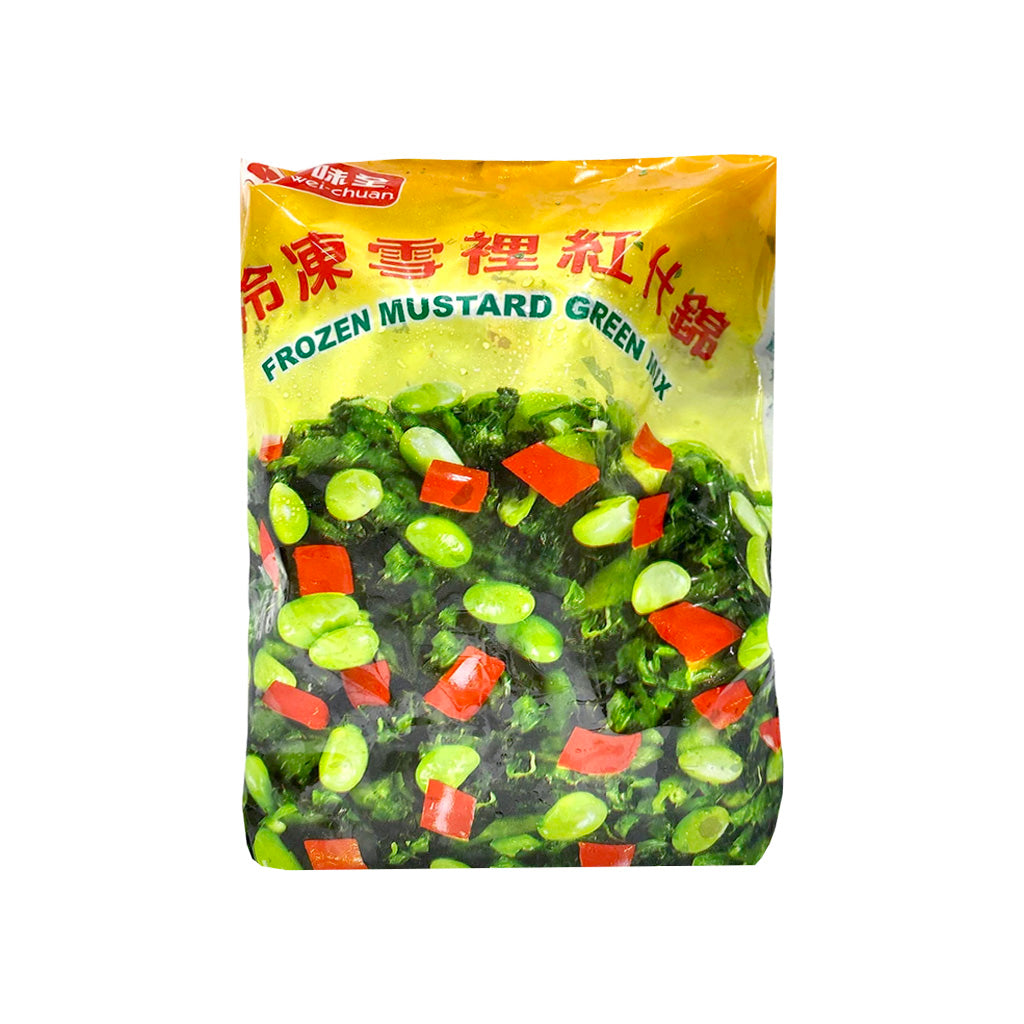 Wei-Chuan Frozen Mustard Green Mix味全冷凍雪裡紅什錦 1LB