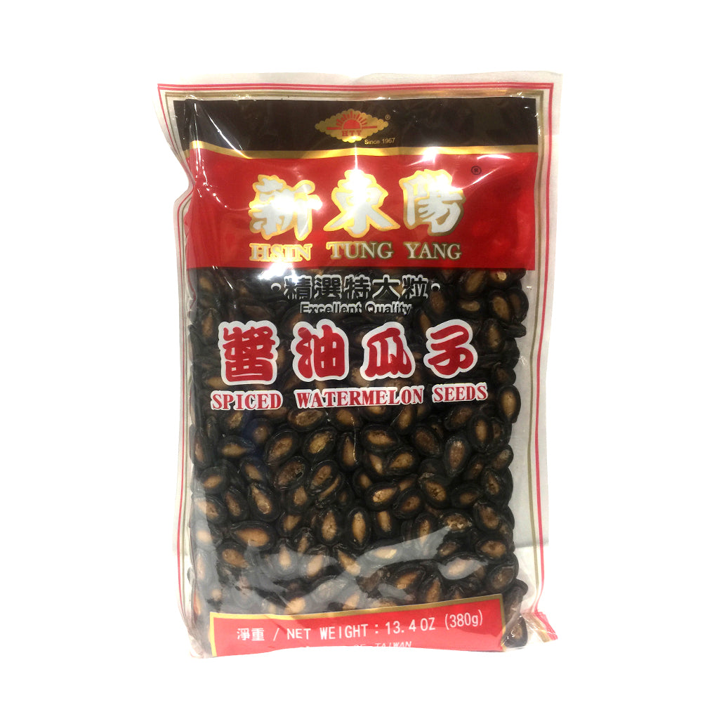 HTY Spiced Watermelon Seeds 新東陽醬油瓜子 380G