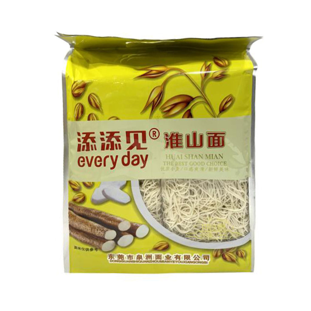 DRIED NOODLES  添添見淮山面