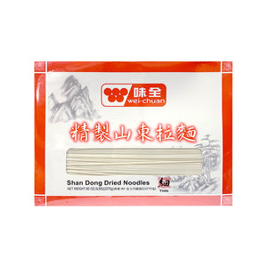 Wei-Chuan Shan Dong Dried Noodles(Thin) 味全山東拉麵(細) 5LB