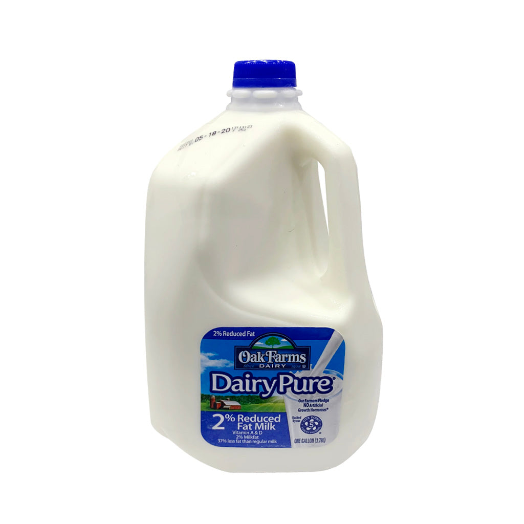 OAKFARMS-DAIRY PURE 2% REDUCED FAT MILK  2%低脂牛奶 3.78L