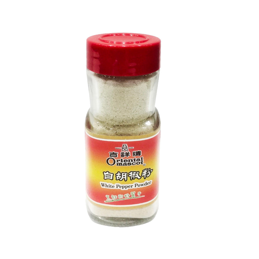 Oriental Mascot White Pepper Powder 吉祥牌白胡椒粉