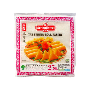 "Spring Home TYJ Spring Roll Pastry 第一家春捲皮 8""*8"" 25PCS"