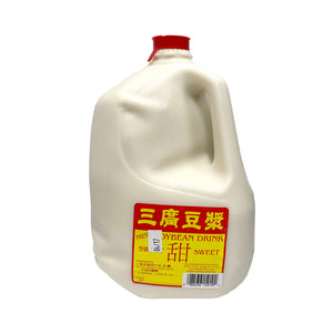 SOYBEAN MILK-SWEE 1GAL 三廣甜豆漿