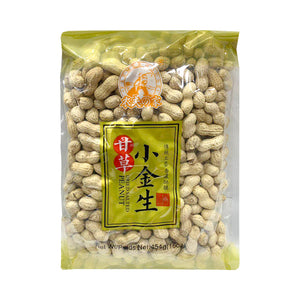 Farmer Housr Dried Salted Peanut 農夫の家甘草小金生 454G