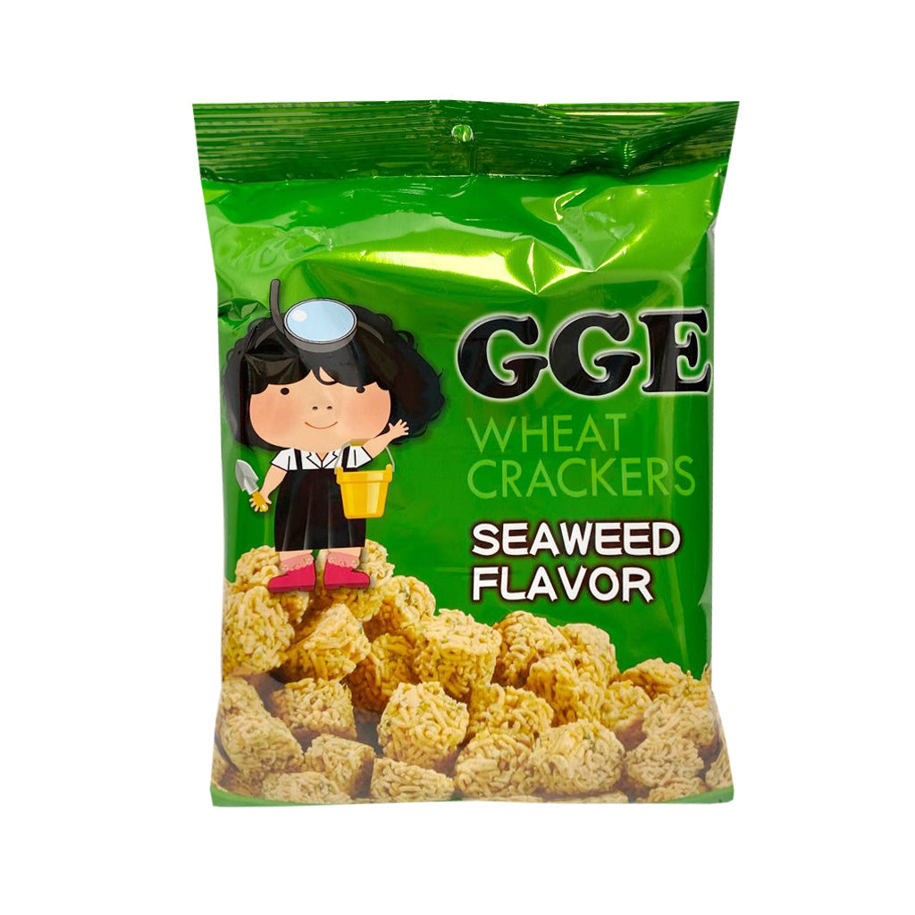 GGE Wheat Crackers- Seaweed Flavor張君雅點心麵-海苔味80g