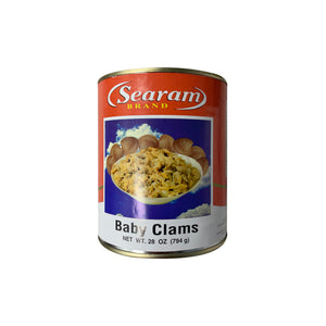 SEARAM BABY CLAMS 罐裝蛤蜊肉 28OZ