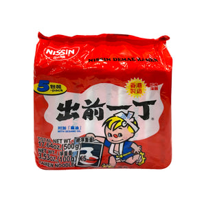 NISSIN-NOODLE WITH SESAME OIL 出前一丁麻油味麵-5PK