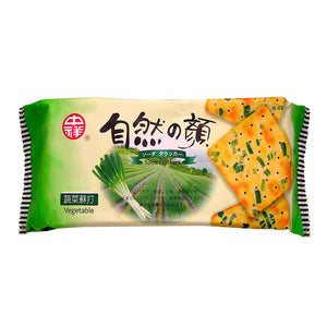 Natural Series Vegetable Crackers 中祥自然の顏蔬菜蘇打餅 140G
