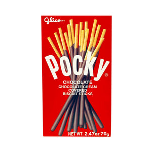 Pocky Chocolate Biscuit Stick 百琪巧克力棒 70G