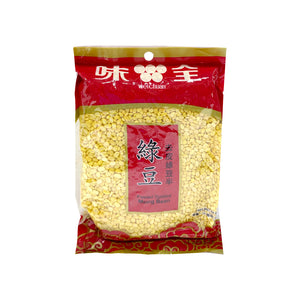 WEICHUAN  PEELED SPLITTED MUNG BEAN 去皮綠豆半400g