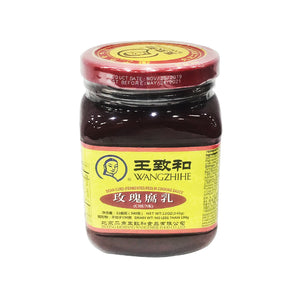 Wangzhihe Red Fermented Bean Curd 王致和玫瑰腐乳 12OZ