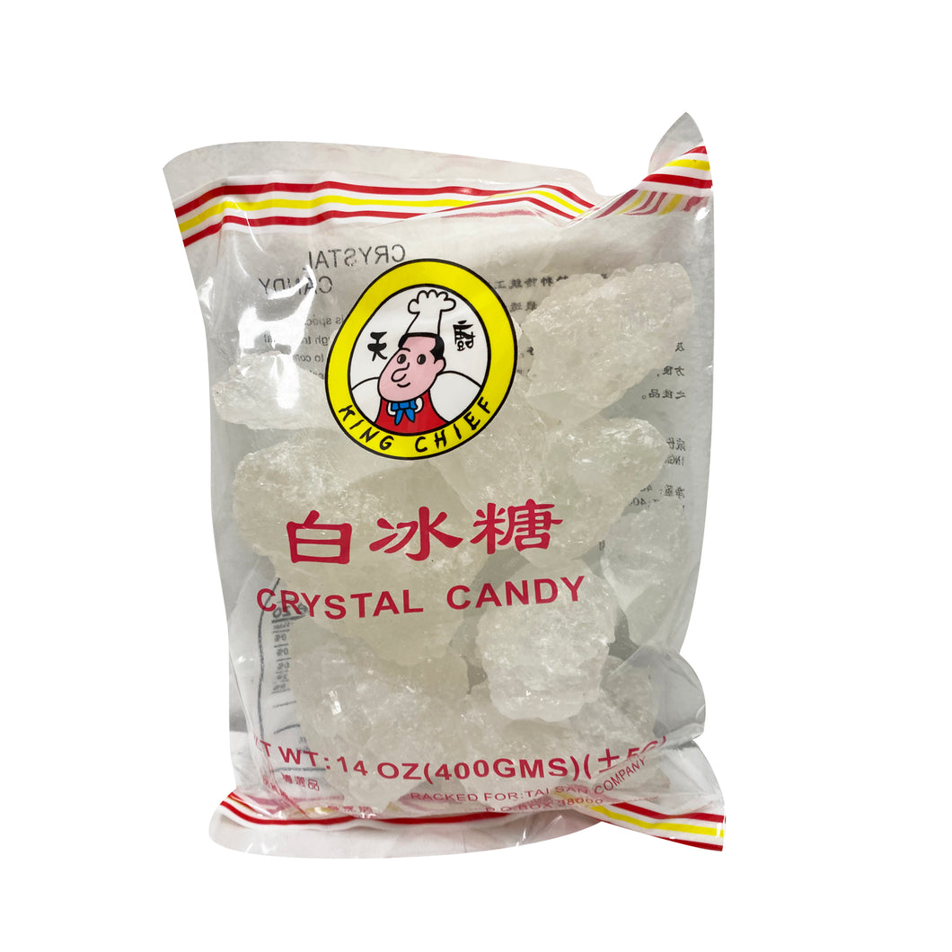 CRYSTAL CANDY  天廚白冰糖 14OZ