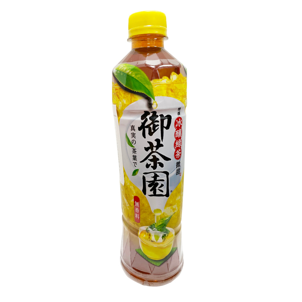 O'CHA YEN ICE-BREWED GREEN TEA 御茶園冰醸綠茶-低糖 539ML