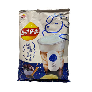 LAY'S POTATO CHIPS (COFFEE OOLONG MILK TEA FLAVOR)樂事咖啡凍烏龍奶茶味 65G