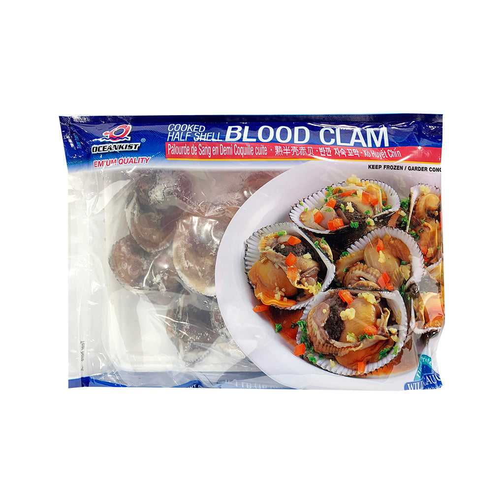 Oceankist Cooked Half Shell Blood Clam 熟半殼赤貝 1LB