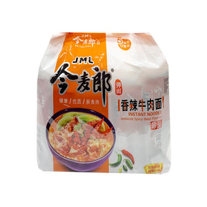JML Artificial Spicy Beef Instant Noodle 今麥郎香辣牛肉麵