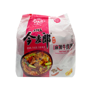 JML Artificial Spicy Hot Instant Noodle 今麥郎麻辣牛肉麵