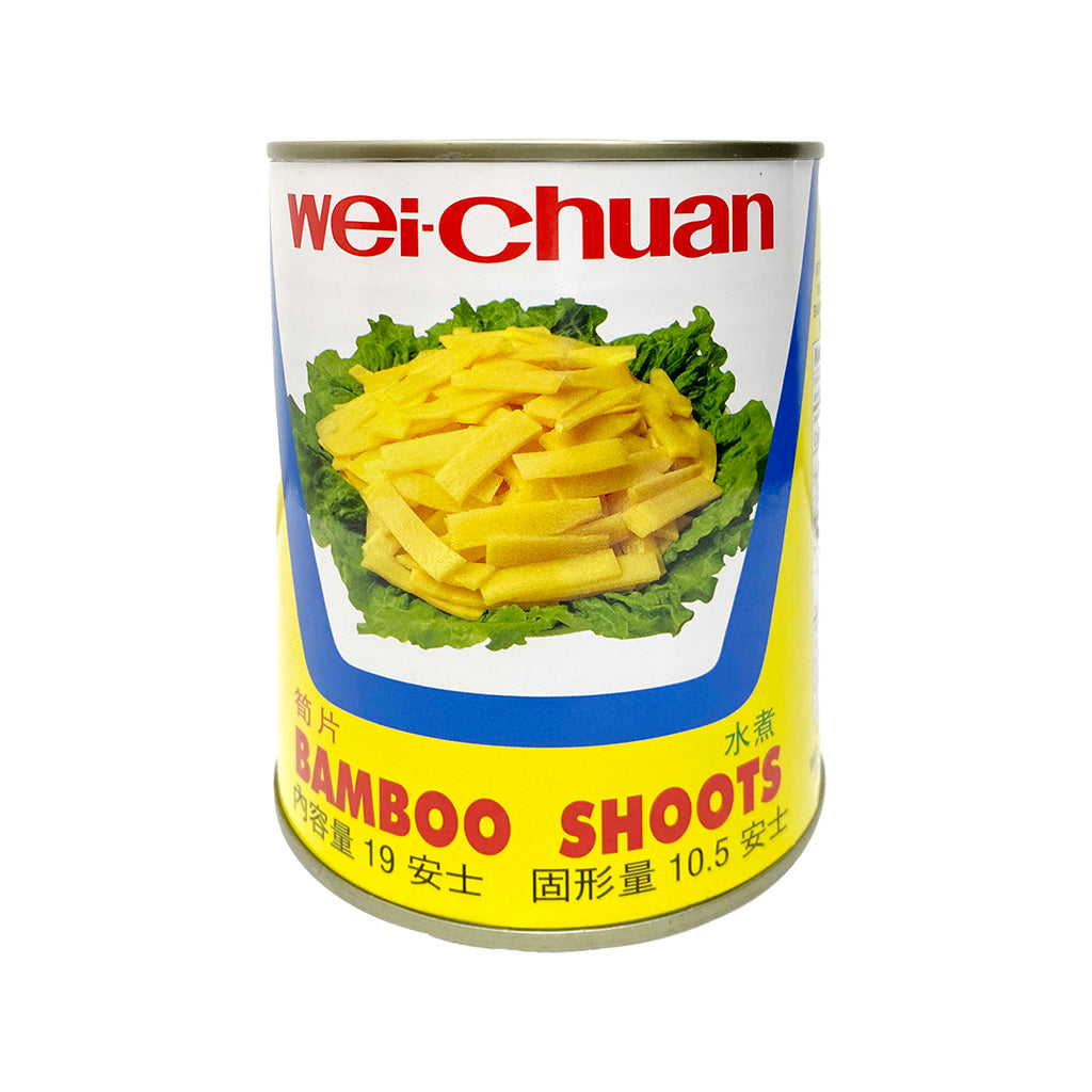SLICED BAMBOO SHOOTS味全筍片19OZ