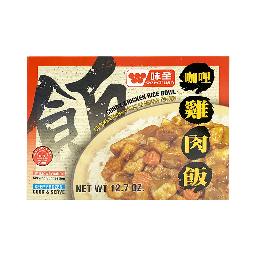 Wei-Chun Chicken Curry Rice Bowl 咖哩雞肉飯 12OZ