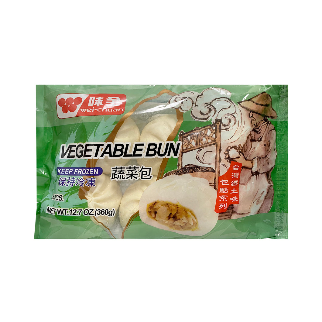 W/C VEGETABLE BUN 味全蔬菜包 360G